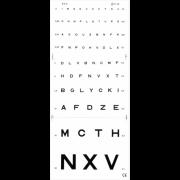 Echelle de lecture monoyer 3M